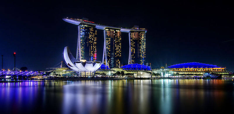 Amazing view of Marina Bay Sands Photo courtesy: Erwin Soo, CC BY 2.0