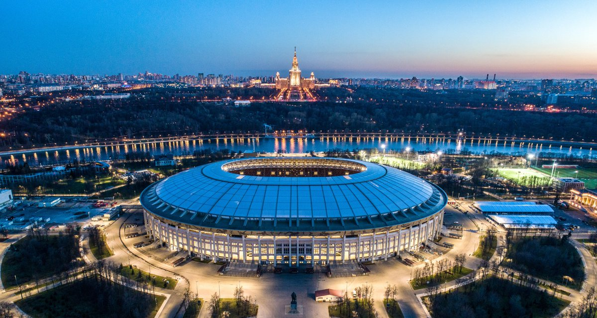 The greatest Football extravaganza FIFA World Cup 2018 will be organised in Russia from June 14 to July 15. The Luzhniki Stadium of Moscow will stage both the opening and final match of the tournament.