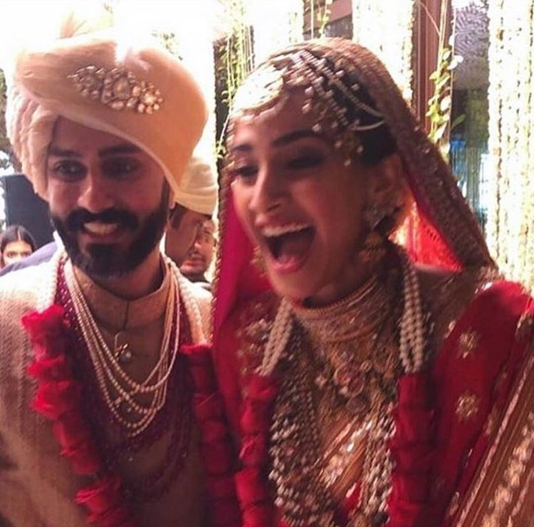 After the Anand Karaj, a reception will be hosted for Sonam Kapoor and Anand Ahuja tonight
