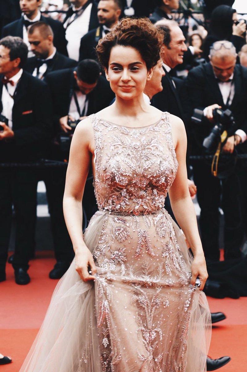 Kangana Ranaut debuts at Cannes 2018.