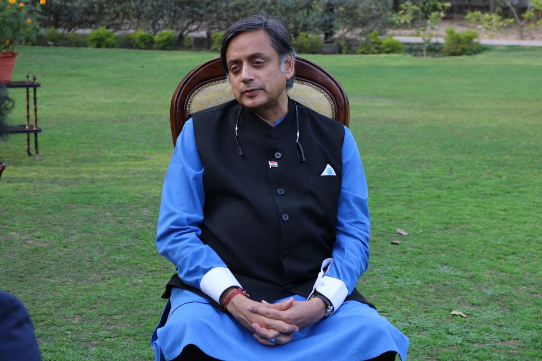 Shashi Tharoor. Photo: Connected to India