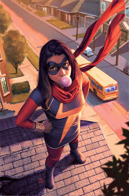 Kamala Khan is a fictional superhero appearing in American comic books published by Marvel Comics.