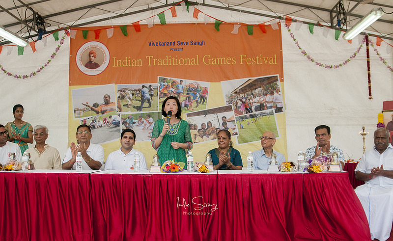 Cheryl Chan, MP for Fengshan Single Member Constituency (SMC), was the chief guest for the event