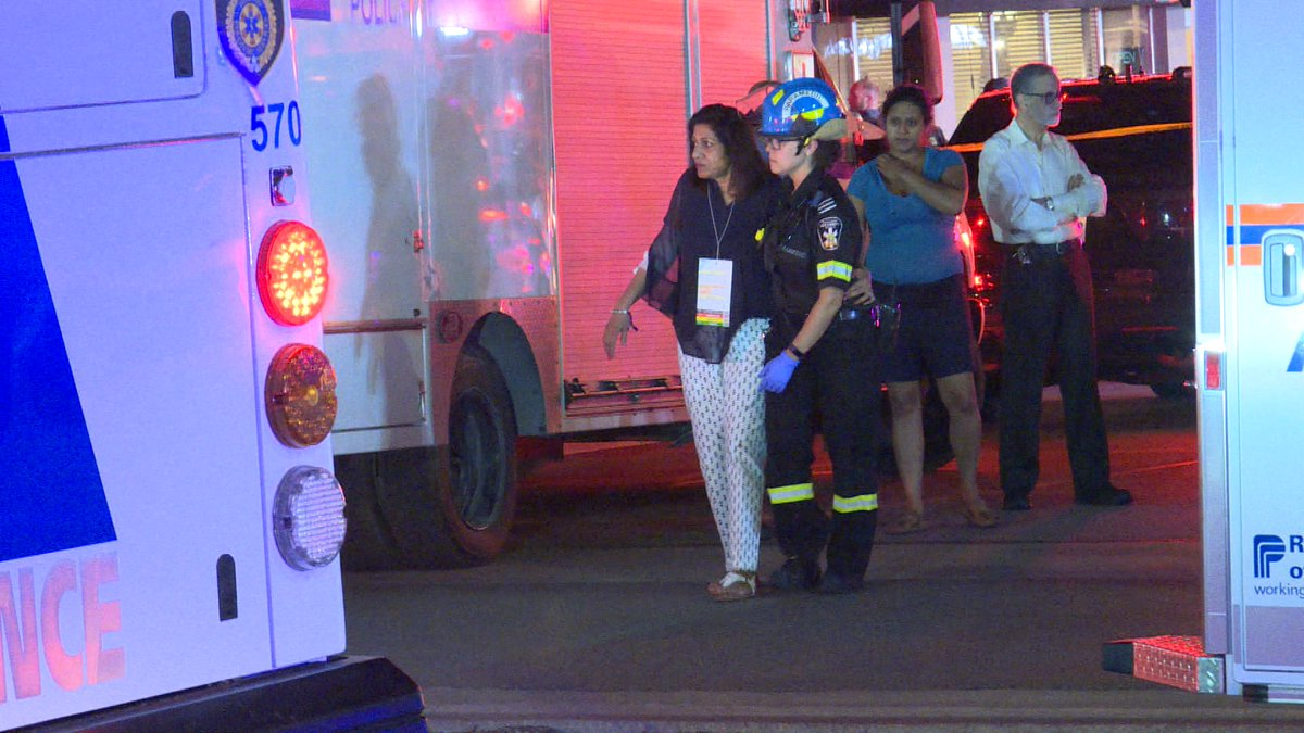 Paramedics took 15 people to hospitalBombay Bhel, a suburban Indian restaurant in the Canadian city of Mississauga