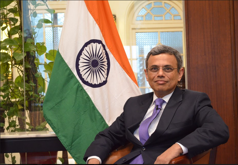 HE Jawed Ashraf, High Commissioner of India, Singapore, stated there are four very important pillars of India's relationship with Singapore; political, economic, technological and cultural and that PM Modi's visit was a comprehensive one focusing on all four aspects. Photo: Connected to India