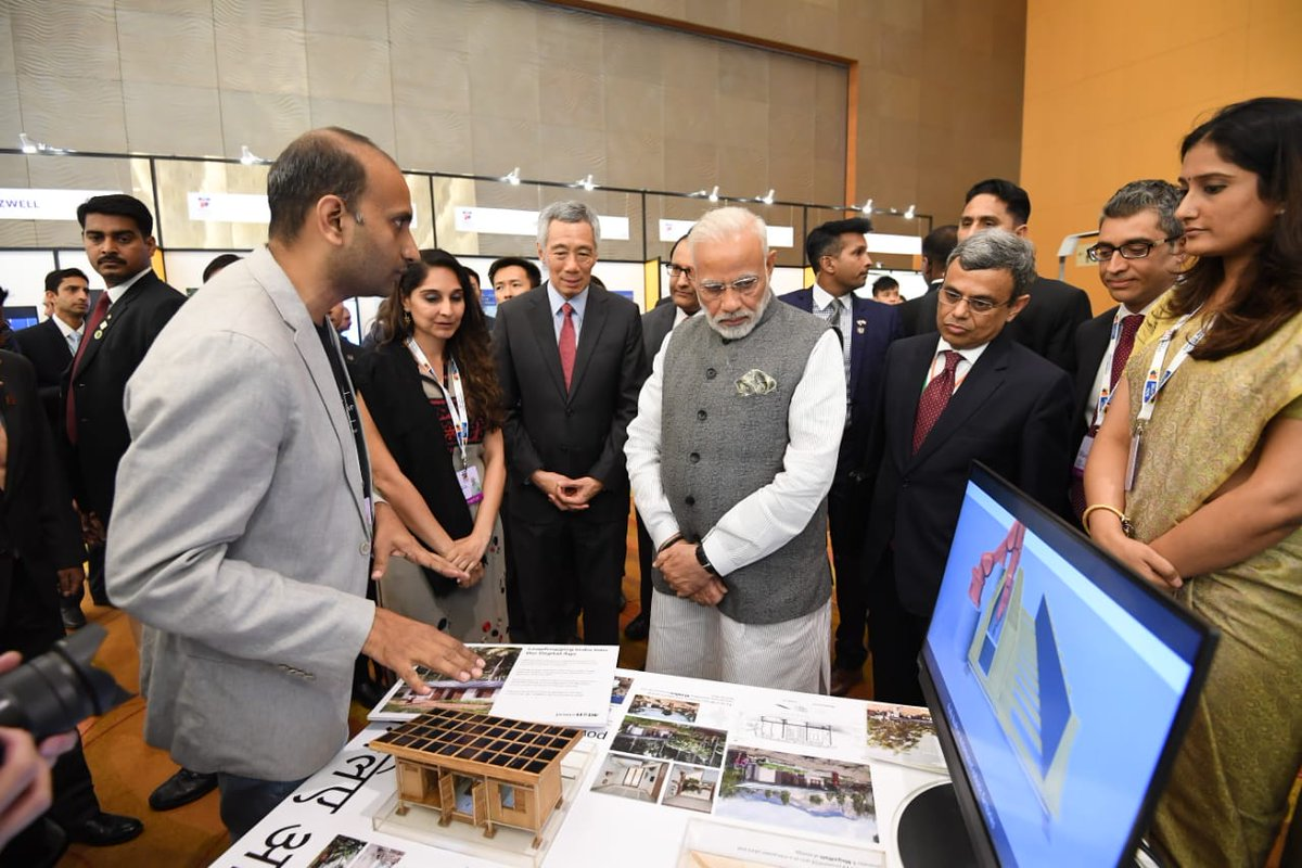 India-Singapore Enterprise and Innovation Exhibition was part of the day-long startup event – InSpreneur 2.0 in which over 500 participants focussed on frontier technologies of artificial intelligence, blockchain, data analytics, machine learning, fintech and cyber security.