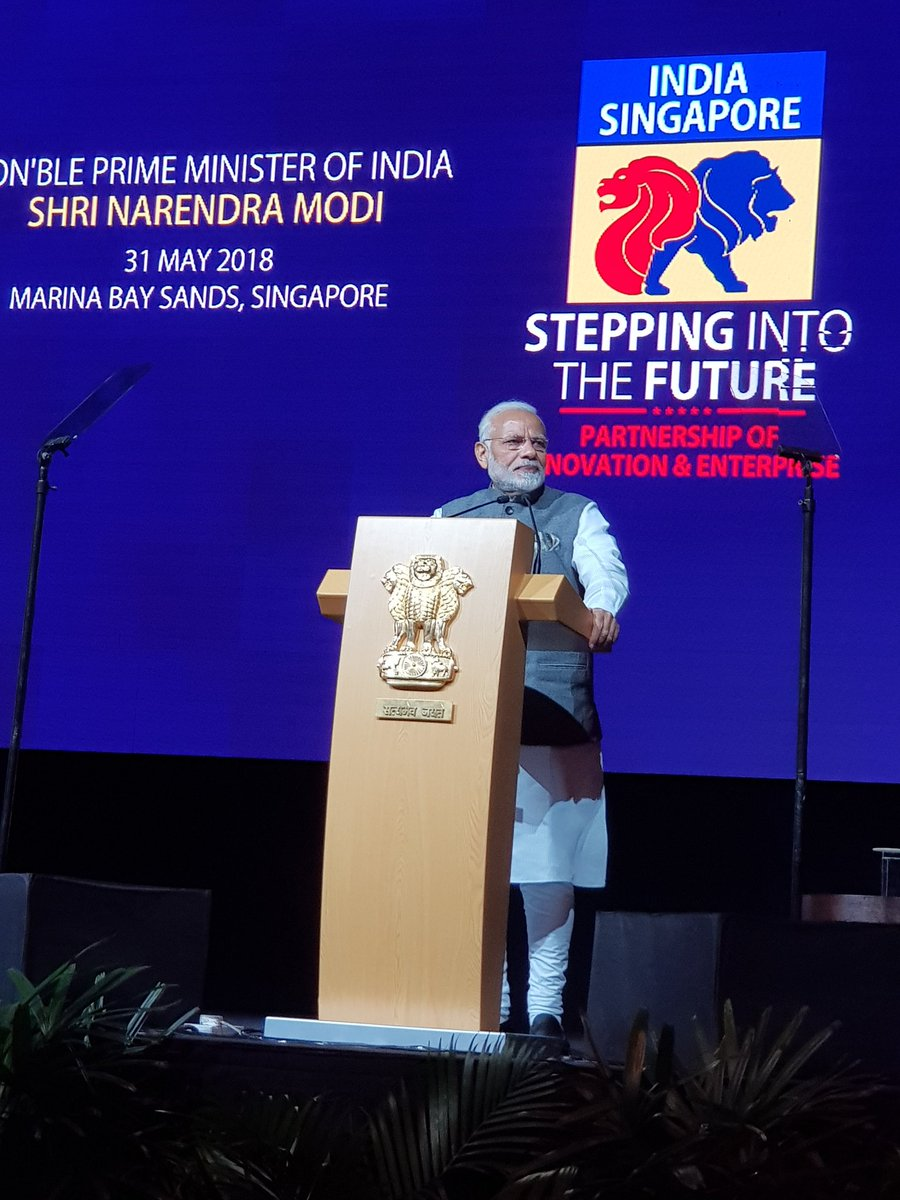 We have the world's most talented, dynamic, professional and committed Indian diaspora