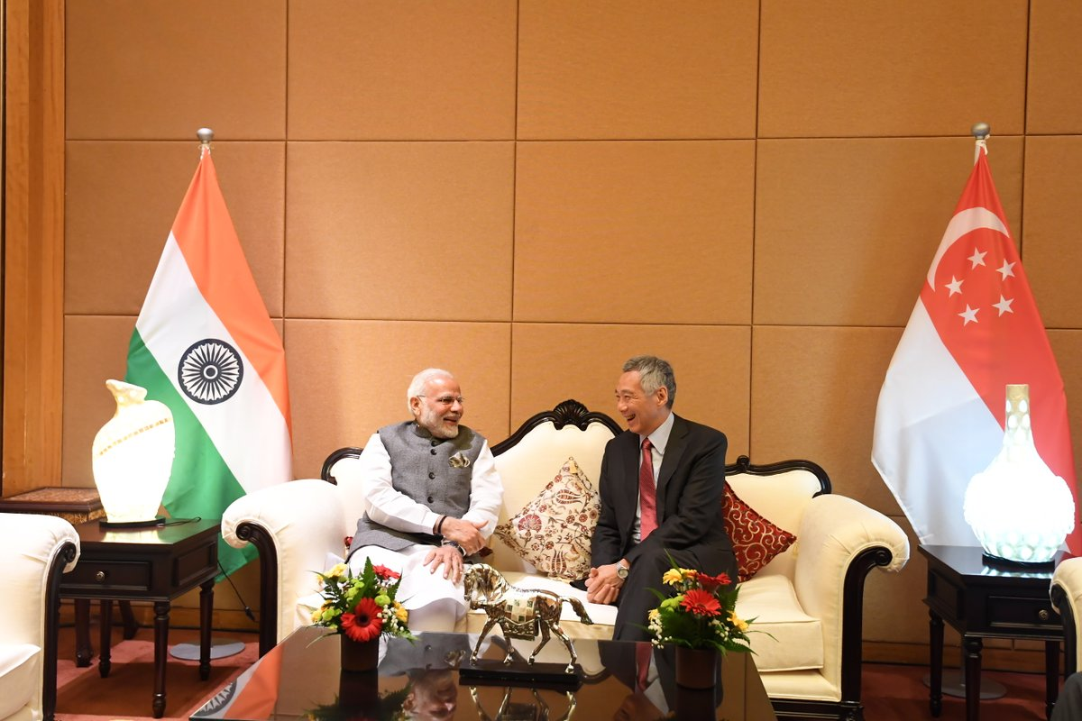 When India opened up to the world and turned to the East, Singapore became the bridge between India and ASEAN