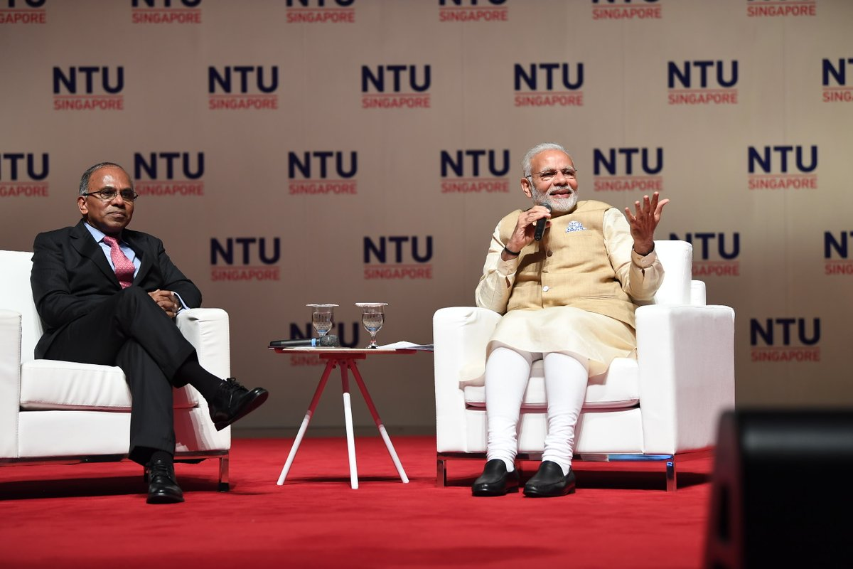 The key theme of PM Modi's address was that of encouraging innovation and pushing the boundaries of technology