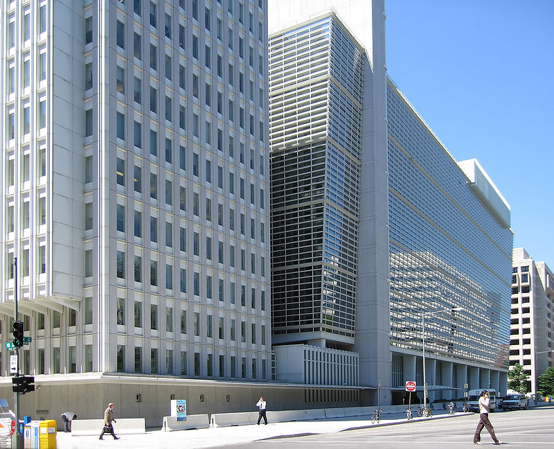 The World Bank Group headquarters building in Washington, D.C