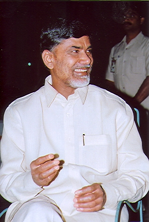 Chief Minister of Andhra Pradesh N Chandrababu Naidu. Photo courtesy: Wikimedia