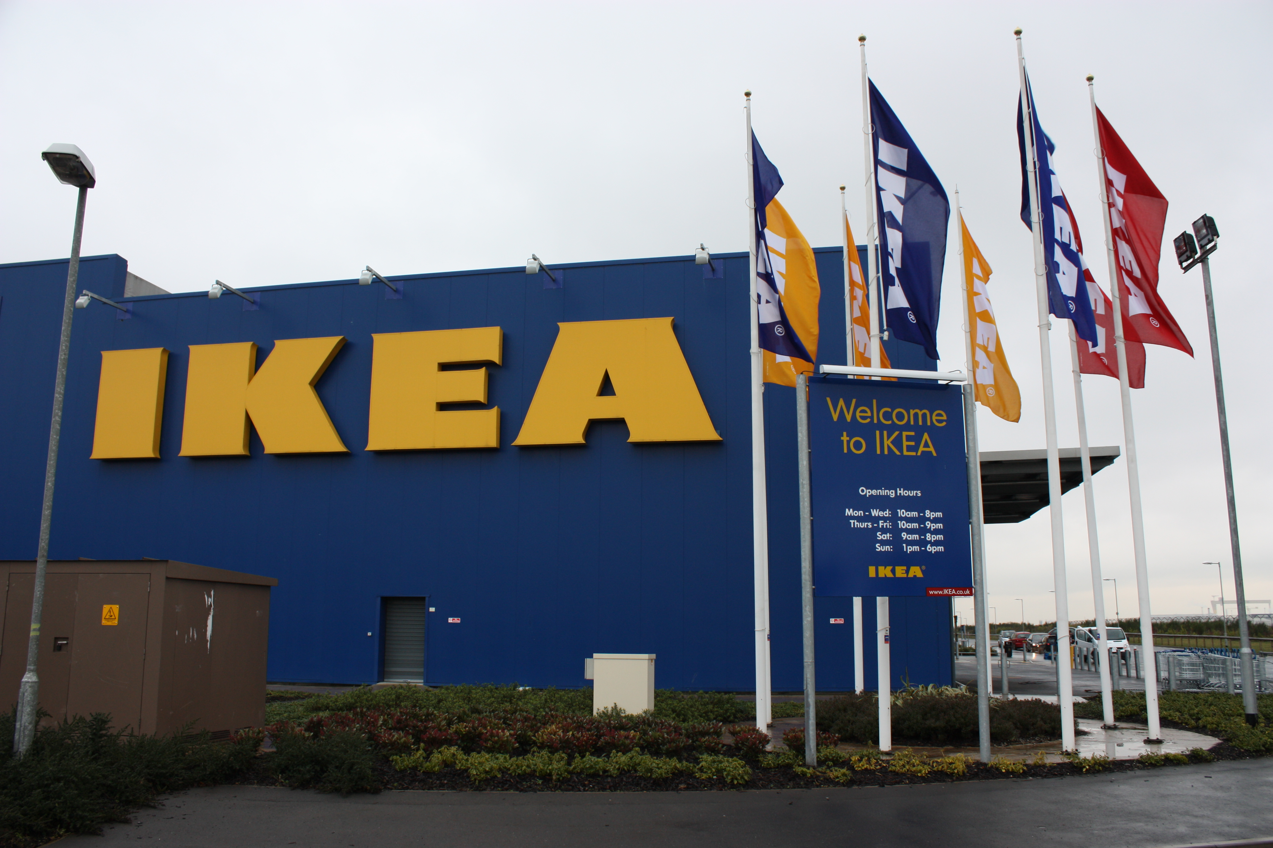 IKEA has planned to use only renewable and recycled materials in its products by 2030.