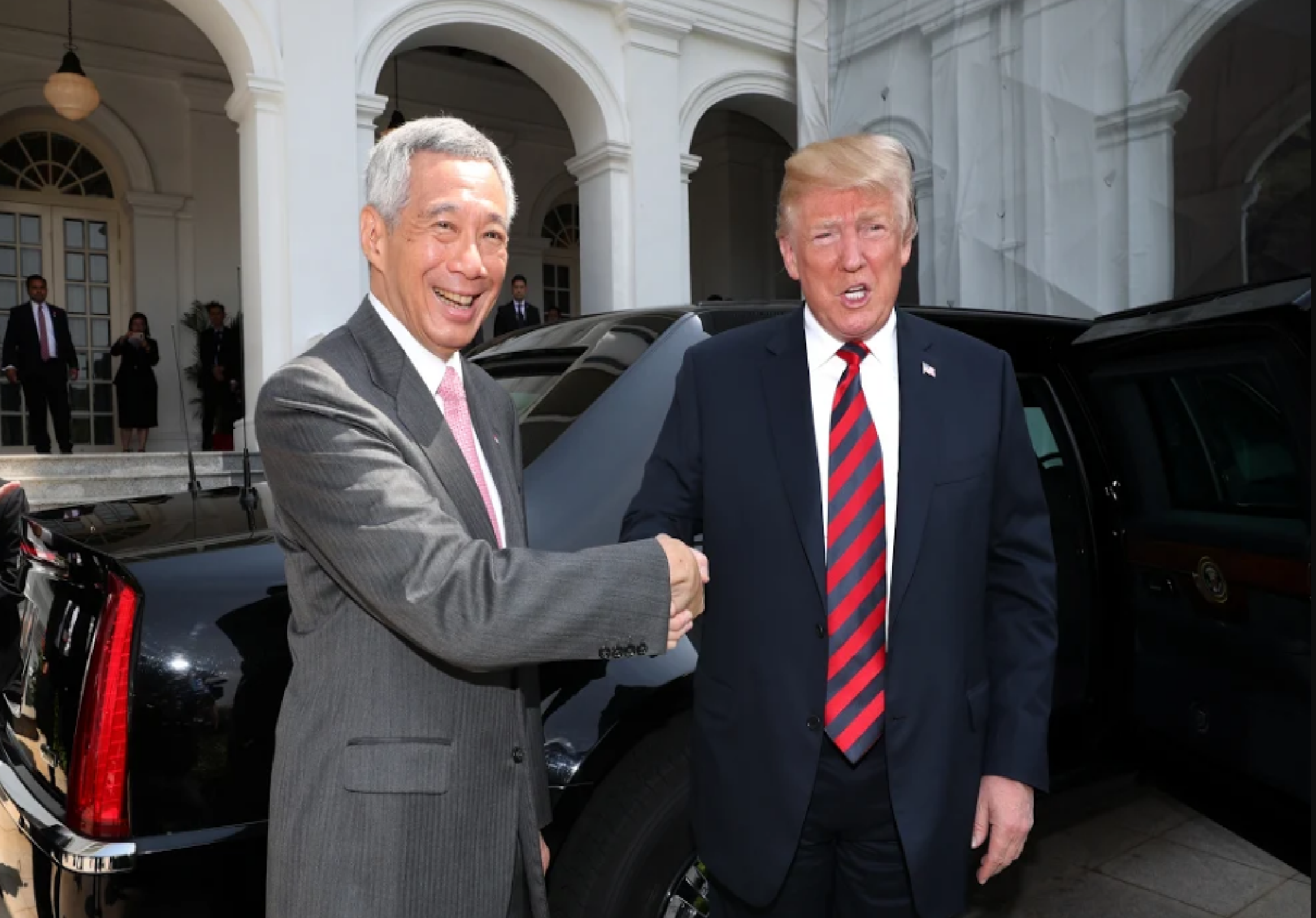Prime Minister Lee and President Trump had a good discussion on a wide range of regional and global developments.
