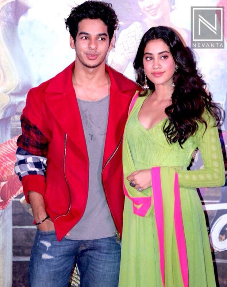 Dhadak is the Hindi adaptation of Marathi film Sairat.