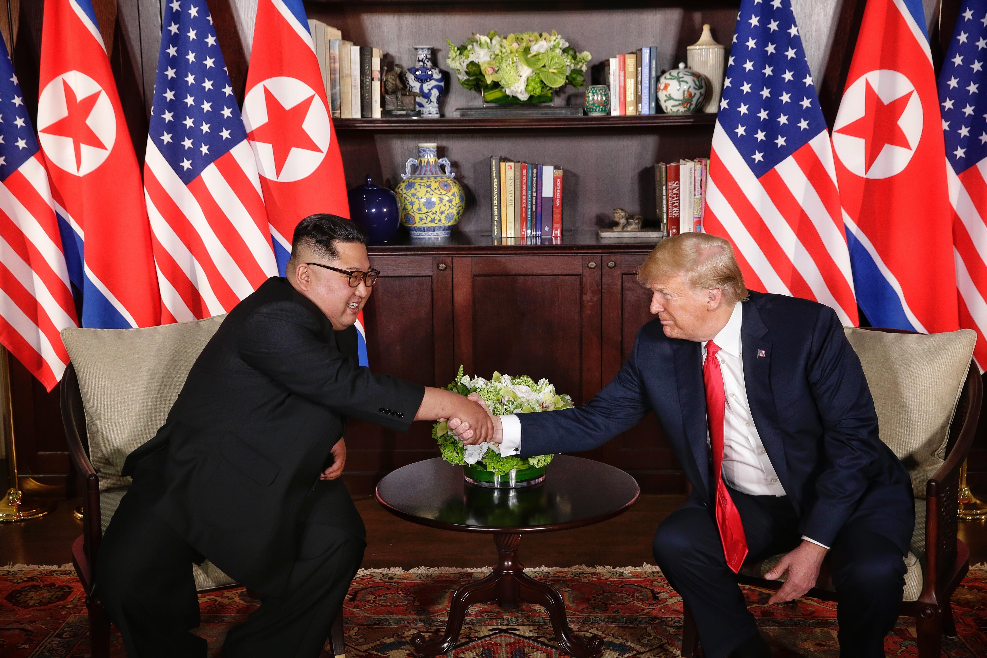 The close chemistry between North Korean leader Kim Jong Un and US President Donald Trump resulted in the joint document in which the former has assured of complete denuclearisation of the Korean peninsula.