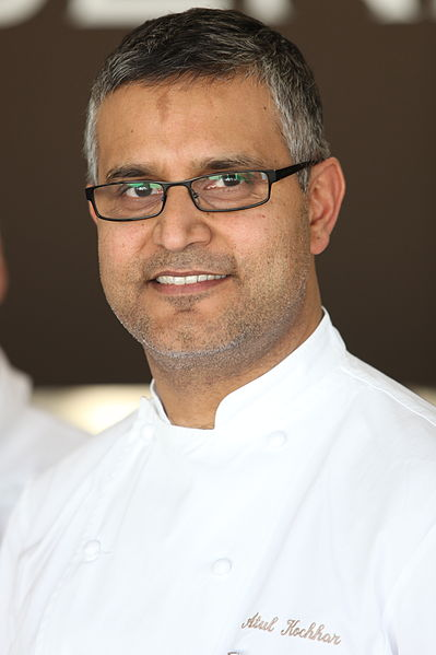 Indian-origin chef Atul Kochhar. Photo courtesy: Wikipedia