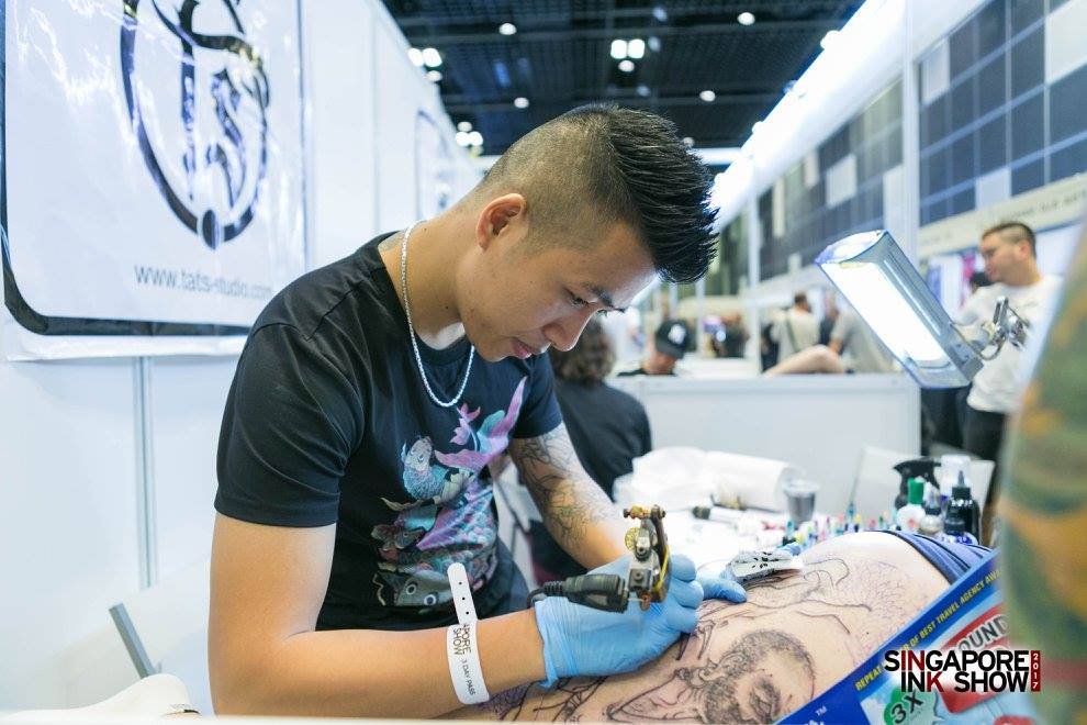 Photo courtesy: Singapore Ink Show