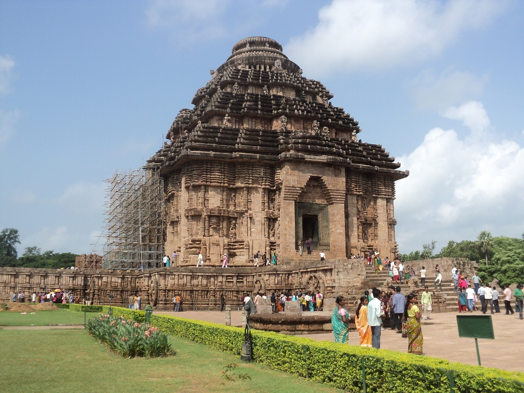 Konark Sun Temple is the finest piece of Indian sculptural marvel.