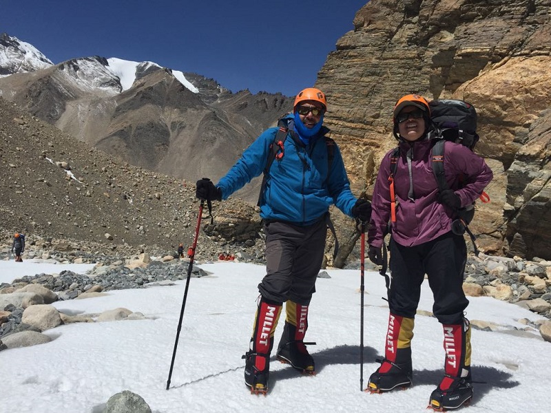 Deeya Bajaj and Ajeet Bajaj became the first Indian father-daughter duo to summit Mount Everest. They summitted world's highest peak at dawn on May 16, 2018.