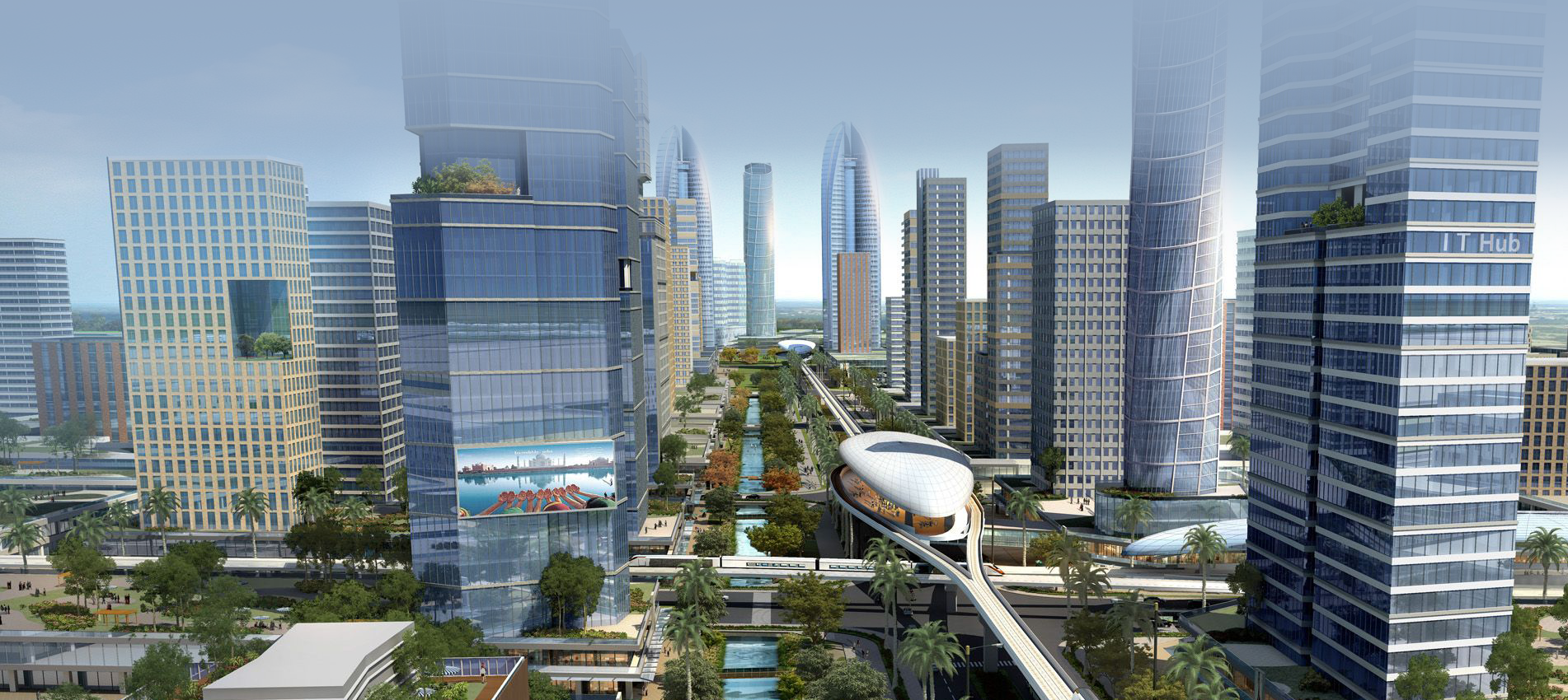 Singapore has been involved in helping Andhra Pradesh build its capital city Amaravati.