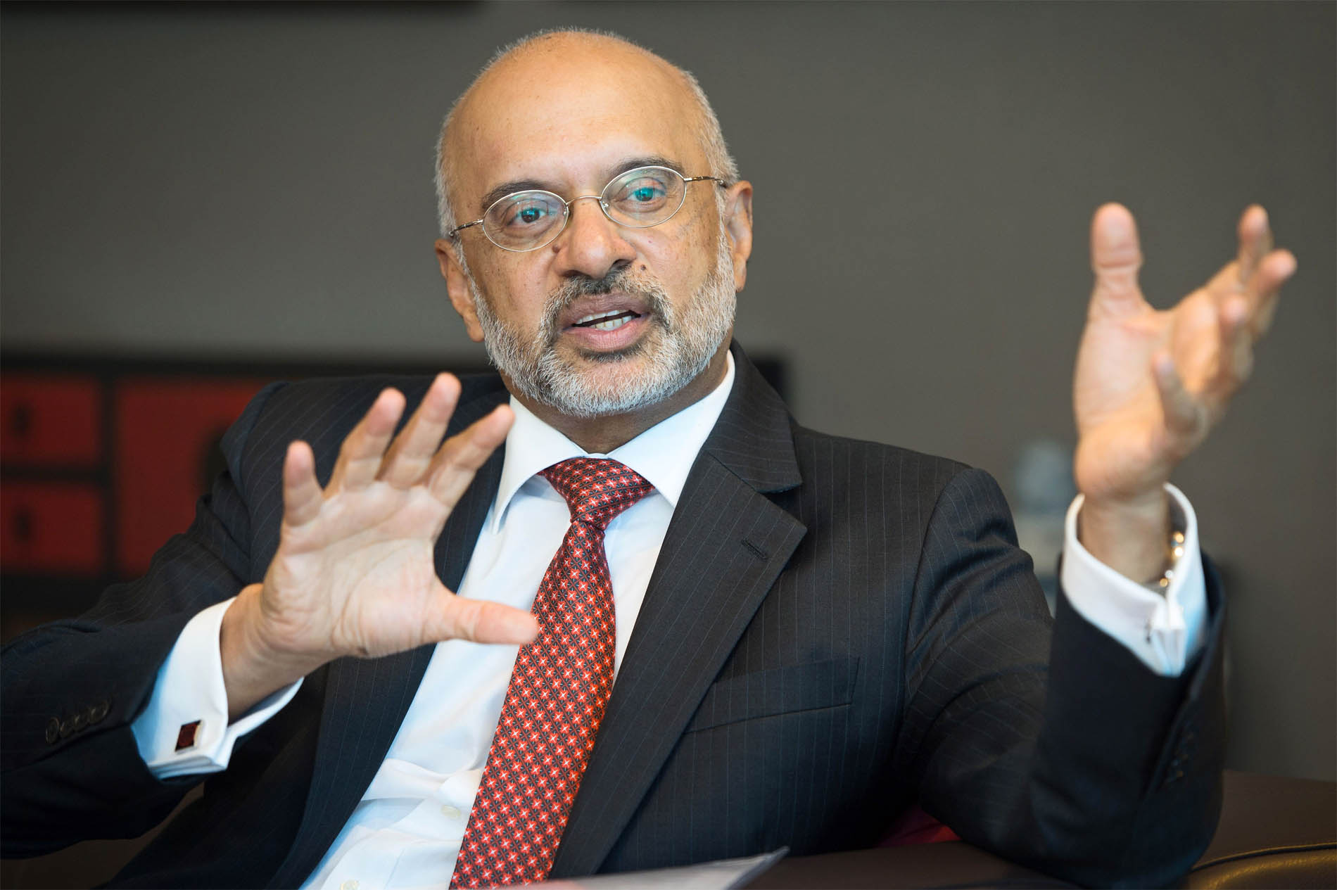 Piyush Gupta, Group CEO and Director of DBS Bank.