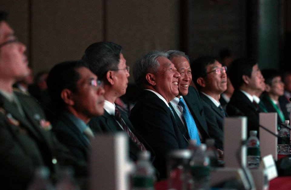 Deputy Prime Minister of Singapore Teo Chee Hean present at the Singapore Defence Technology Summit.