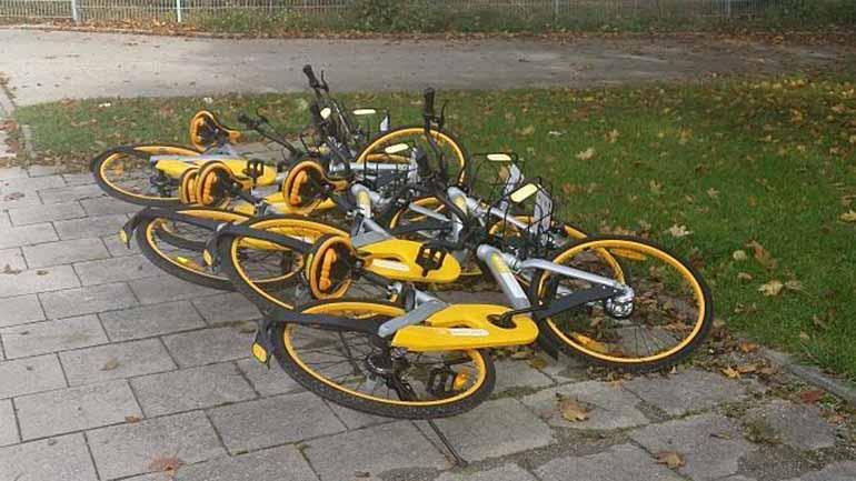 There is growing concern over cluttering of bicycles on the public spaces of Singapore as bike sharing firm oBike made sudden announcement on June 25 that it has stopped operations in the country.