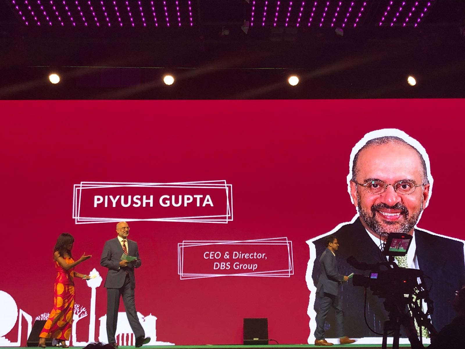 unleash - Hearing the inspiring Dr. Piyush Gupta