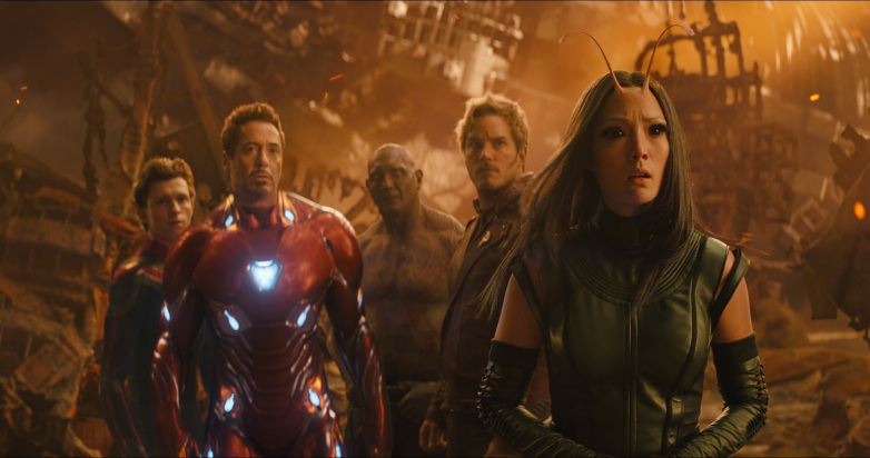A screengrab from 'Avengers: Infinity War'.