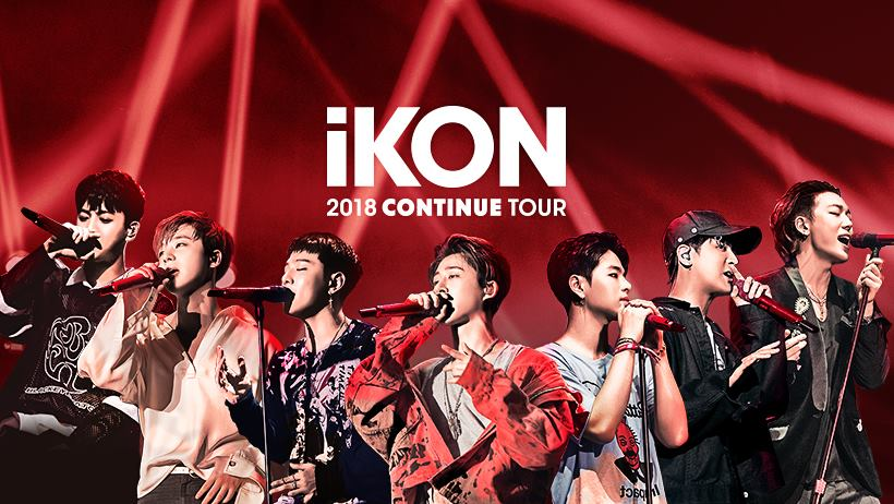 South Korean band iKON will be performing in Singapore as part of its first world tour.