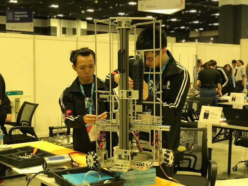 Participants working hard and getting ready for the WorldSkills Singapore competition. Photo courtesy: Facebook page of WorldSkills Singapore