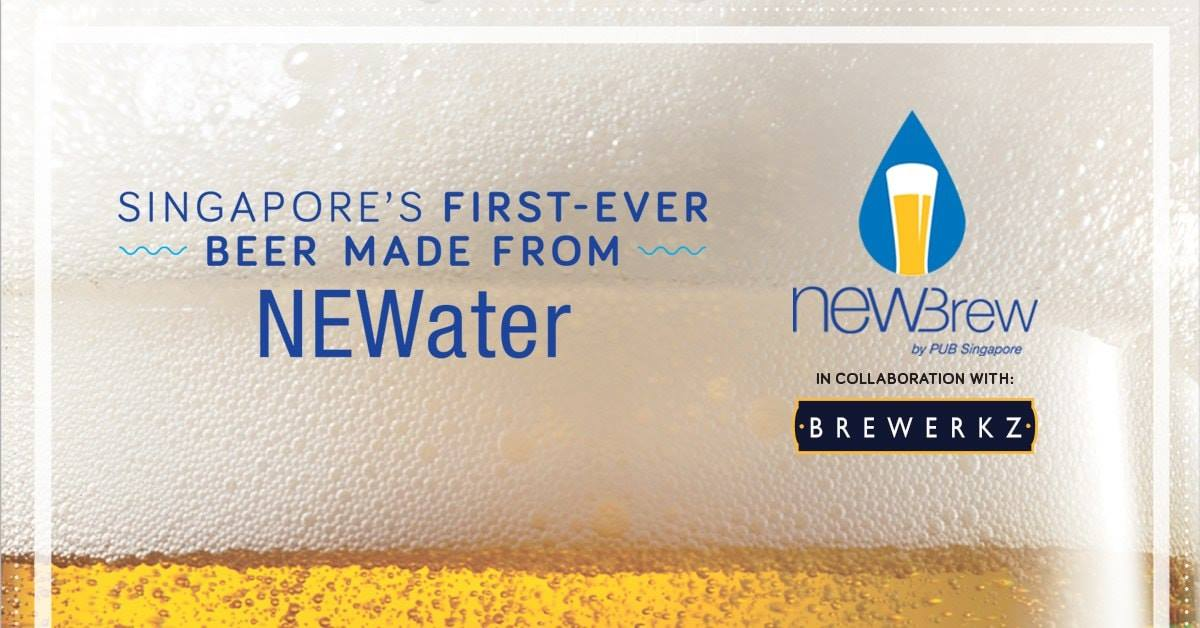 PUB unveils beer made from NEWater - Connected To India
