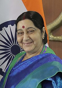 External Affairs Minister of India Sushma Swaraj