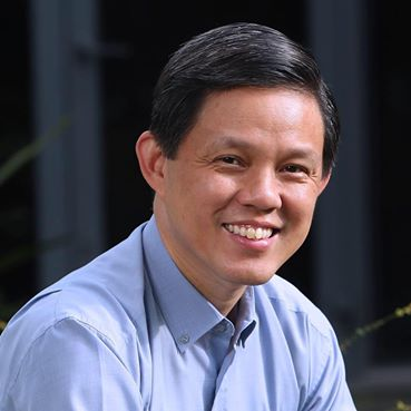 Minister of Trade and Industry of Singapore Chan Chun Sing. Photo courtesy: Facebook page of Chan Chun Sing