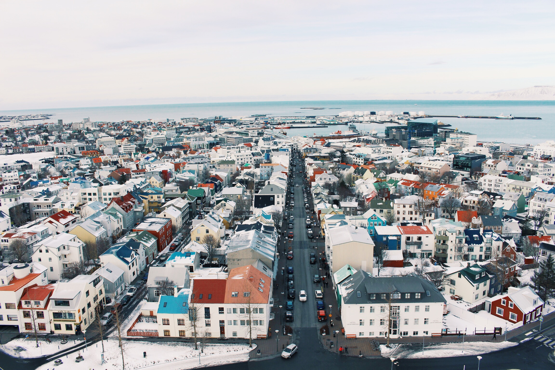 The iconic view over Reykjavik, from the top of Hallgrímskirkja church. Photo: Connected to India