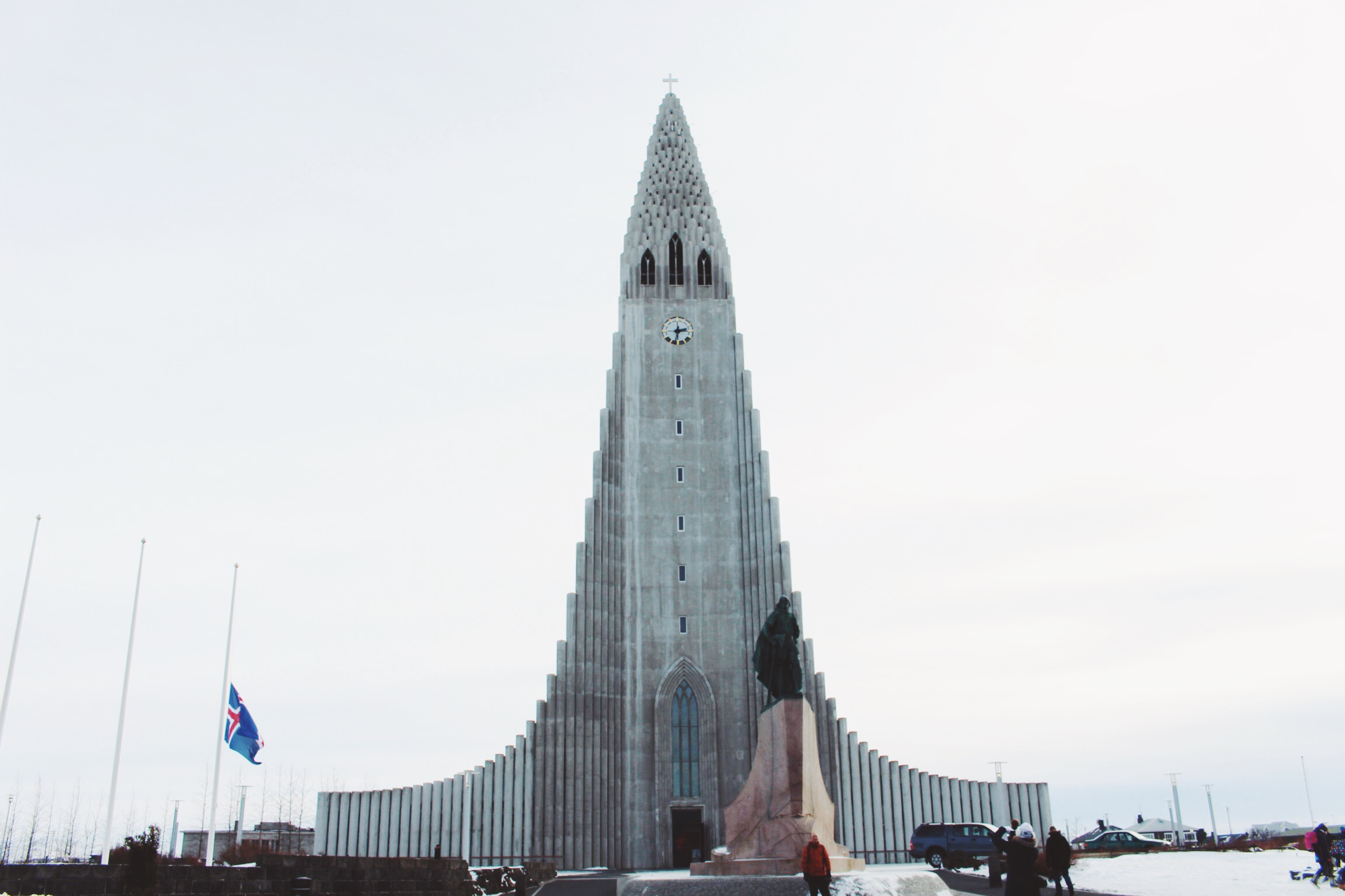 Hallgrímskirkja church: Reykjavik's main landmark and can be seen from anywhere in the city. Photo: Connected to India