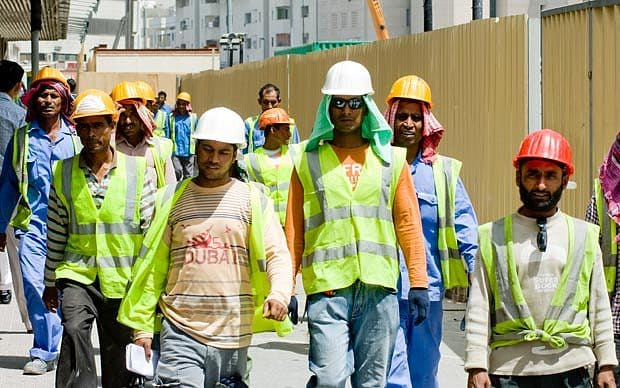 Number of Indian workers going to Gulf particularly Saudi Arabia have decreased. Photo courtesy: Wikimedia