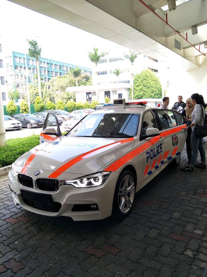 Singapore Traffic Police will use BMW cars for highway patrols from early next year. Photo courtesy: Facebook page of Bavarian Marques