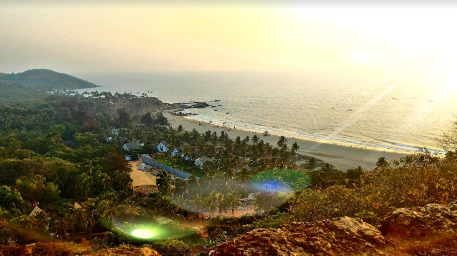 Taking your breath away ! Aerial view of the Goan beach .  Picture Credits - Umang Goel