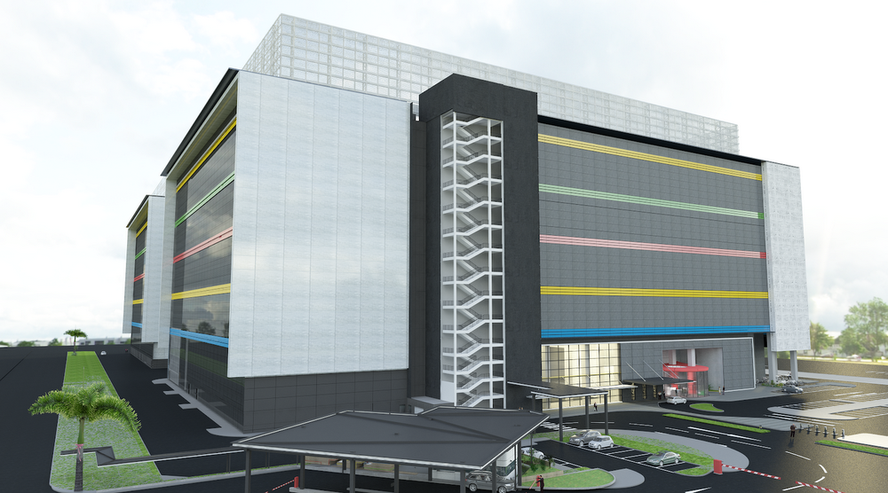 Artist's impression of third Google Data Centre which will be opened in Singapore. Photo courtesy: Google