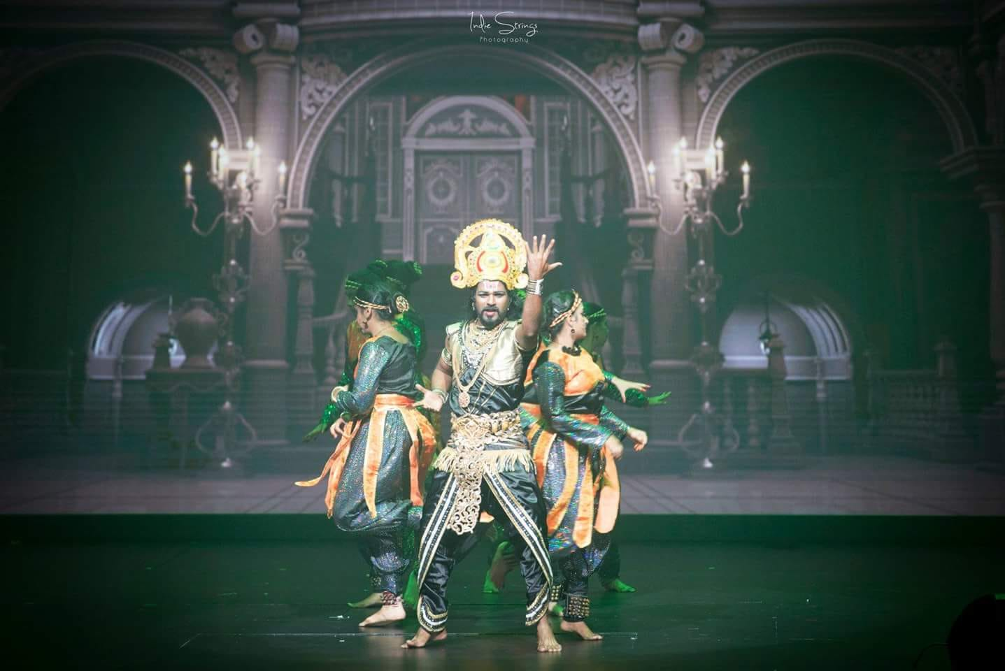 The evergreen villain of that era - Ravan. Photo courtesy: Indie Strings