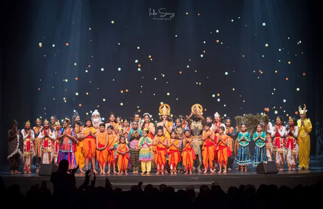 The entire cast of the show. Photo courtesy: Indie Strings