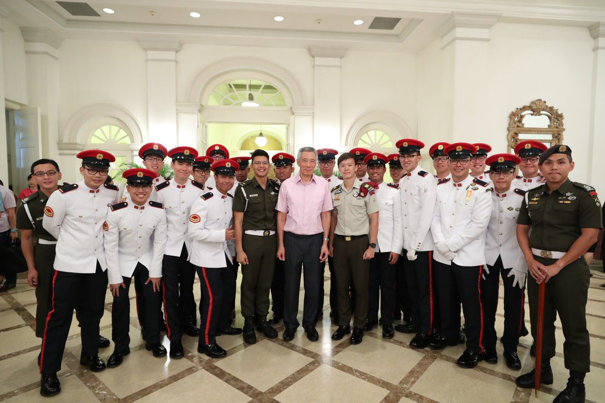 ndp 1 @leehsienloong Started the celebrations ytdy at the Istana National Day Observance Ceremony.