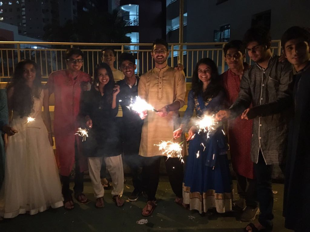 Celebrating Diwali In Singapore. Photo Credits: Adhiraj Mahajan