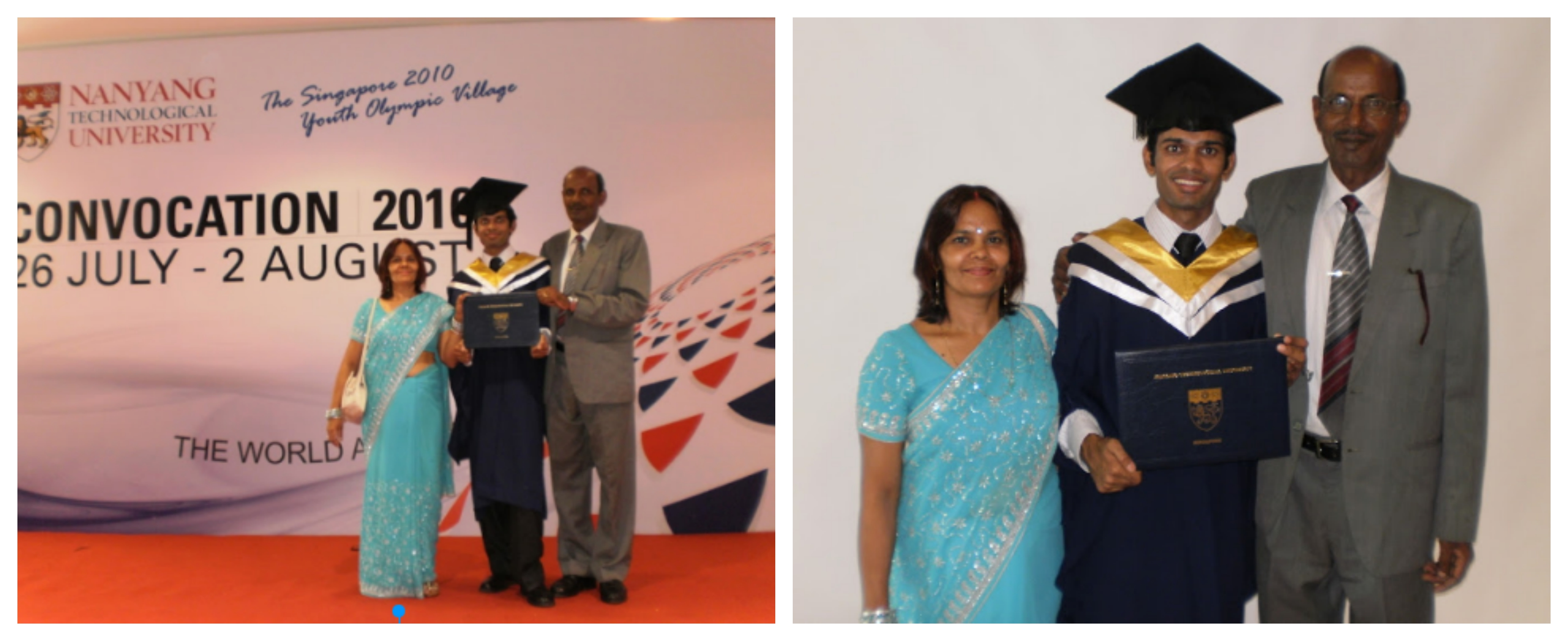 Turning Dreams to realities – Me graduating from NTU