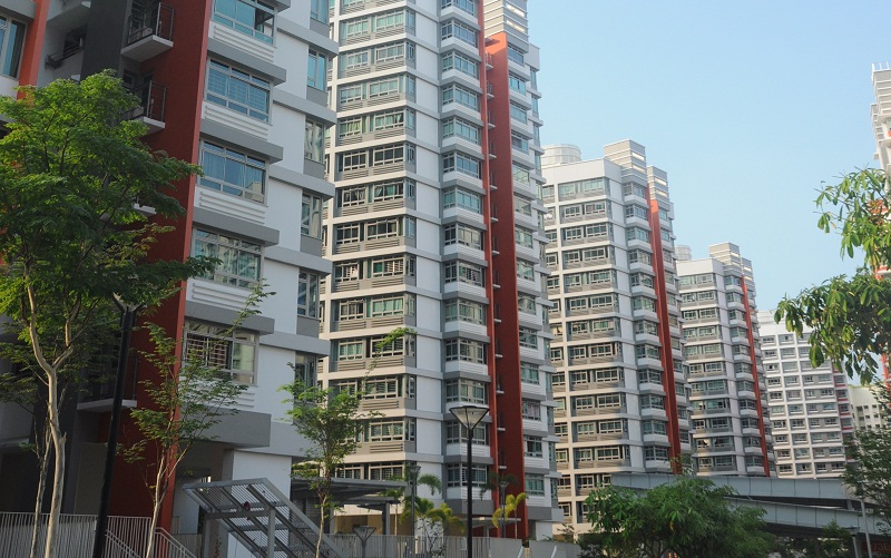 A total of 450,000 flats will be upgraded under HIP and the MUP schemes. Photo courtesy: HDB