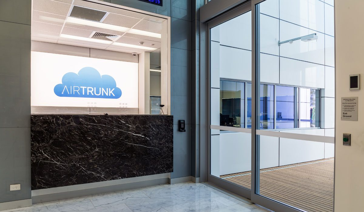 Data Centre of AirTrunk located in Sydney. Photo courtesy: AirTrunk