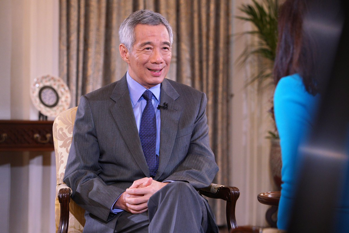 Prime Minister of Singapore Lee Hsien Loong. Photo courtesy: Twitter@/leehsienloong