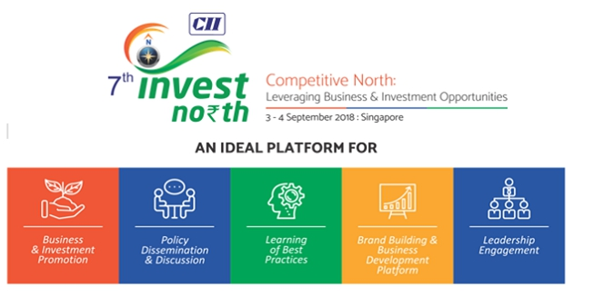 CII Invest North, a conclave showcasing the potential projects and sectoral opportunities for investment in North Indian states, will also be held concurrently on September 3 and 4