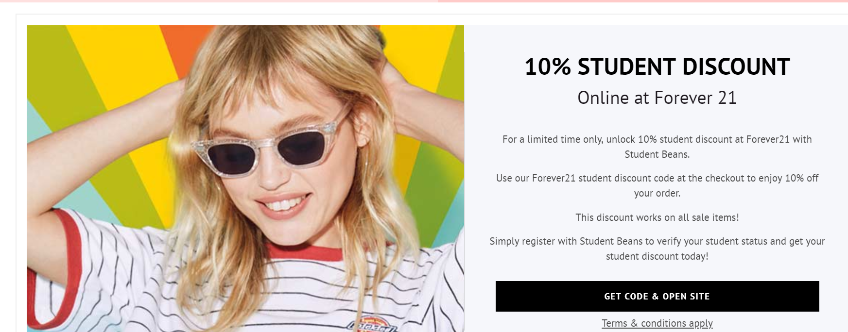 Photo: Screenshot from Forever21 website